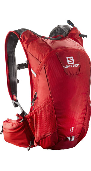 Salomon Agile 17 Backpack Bright Red/White